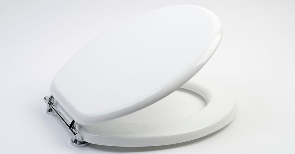 wooden white toilet seat.  Beneke Quality Solid Plastic Toilet Seats KOHLER BENEKE